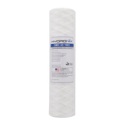 String Wound 1 Micron Under Sink Replacement Filter