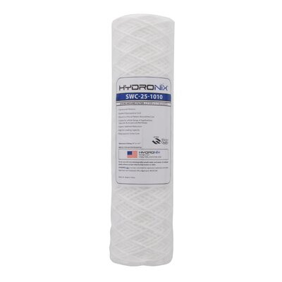 String Wound 10 Micron Under Sink Replacement Filter