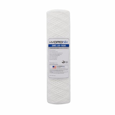 String Wound 30 Micron Under Sink Replacement Filter