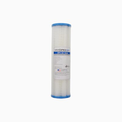 Polyester Pleated 30 Micron Under Sink Replacement Filter