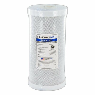 NSF Carbon Under Sink Replacement Filter HYDRONIX-CB-45-1005