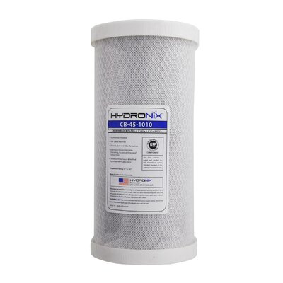 NSF Carbon Under Sink Replacement Filter HYDRONIX-CB-45-1010