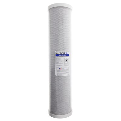 NSF 5 Micron Carbon Under Sink Replacement Filter HYDRONIX-CB-45-2005
