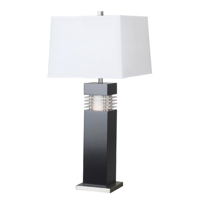 Kenroy Home Wyatt  Table Lamp in Black with Acrylic Accents at Sears.com