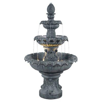 Wildon Home Costa Brava Floor Fountain - Finish: Zinc at Sears.com