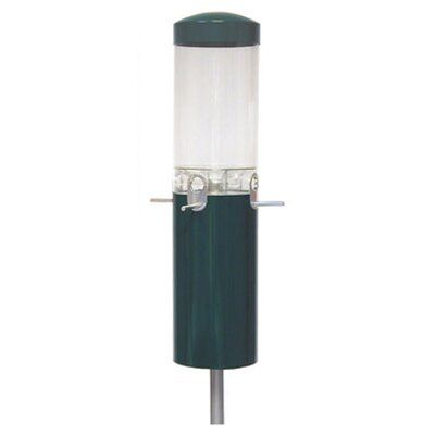 Classic Pole Mount Tube Bird Feeder NPI431