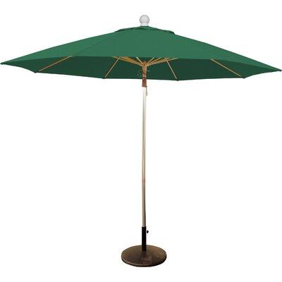 9' Market Umbrella Fabric: Forest Green MUC908F-2P-ANZ-5446