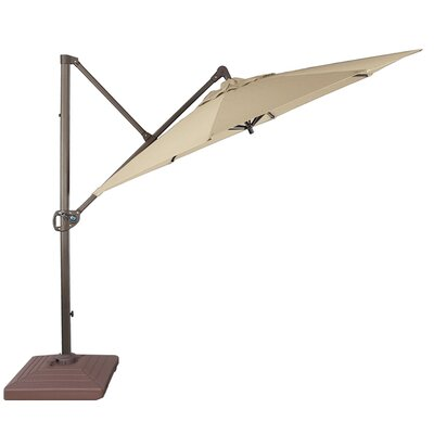10 Cantilever Umbrella Fabric: Taupe