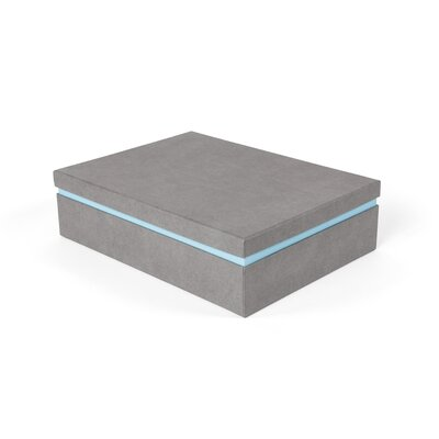 Albin Floating Storage Box Color: Gray/blue