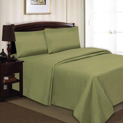 Elegance Luxury 1000 Thread Count 90 GSM Sheet Set Size: King, Color: Sage