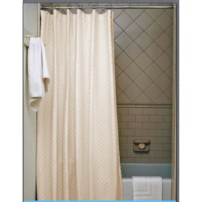 Vinyl Shower Curtain Color: Black