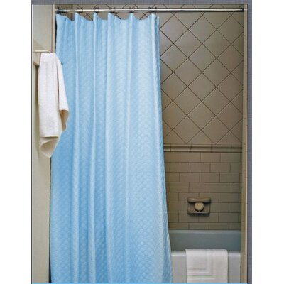 Vinyl Shower Curtain Color: Light Blue