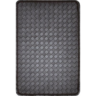 Feel At Ease Kitchen Mat Color: Brown/Espresso