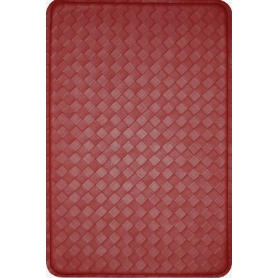 Feel At Ease Mat Color: Red