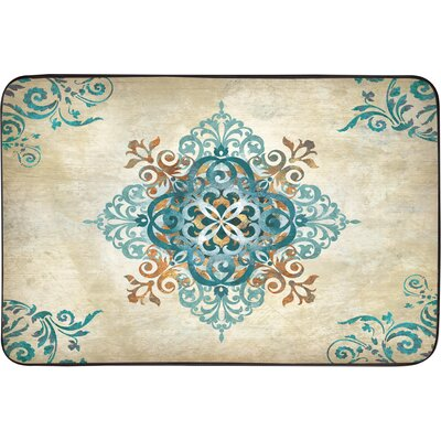 Oversized Designer Chef Arabesque Kitchen Mat