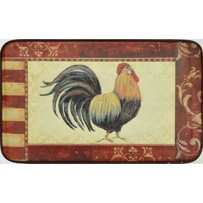 Greg Oversized Rooster Kitchen Mat