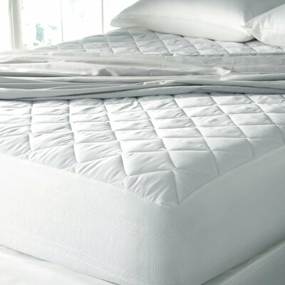 Hypoallergenic High-Loft Moisture-Wicking 15 Polyester Mattress Pad Size: King