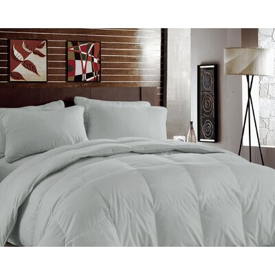 Luxurious Ryaon from Bamboo Midweight Down Alternative Comforter Color: Gray