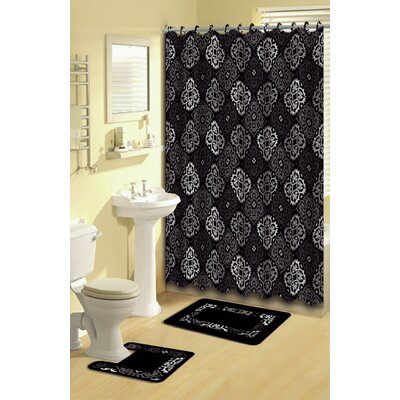 Neubauer 15-Piece Shower Curtain Set