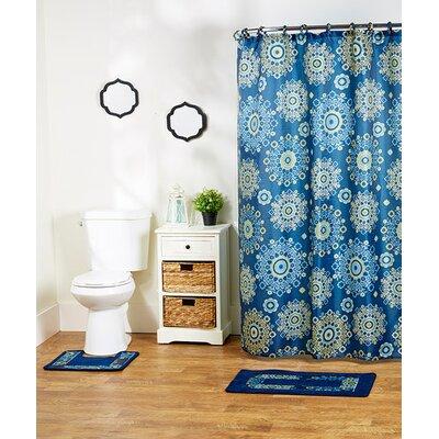 Shaelyn 15-Piece Shower Curtain Set