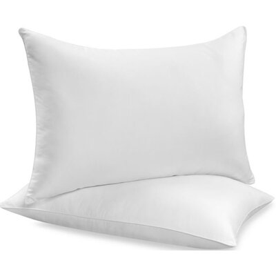 Beauty Sleep Feather Pillow Size: King