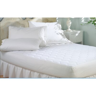 Deep Pocket Polyester Mattress Pad Size: Full