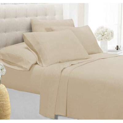 Palmers Sheet Set Color: Ivory, Size: King
