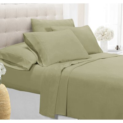 Palmers Sheet Set Size: Full, Color: Sage