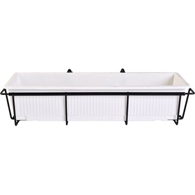 Rectangular Rail Planter F-2436-B
