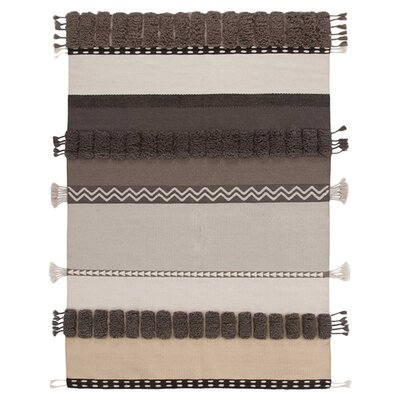 Alexandra Nautral Area Rug Rug Size: 68 x 910