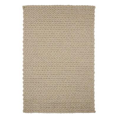 Trenzas Ivory Rug Rug Size: 57 x 711