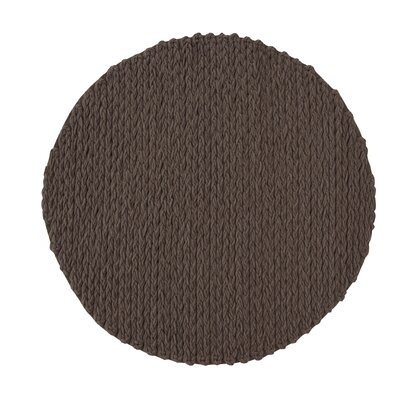 Trenzas Brown Area Rug