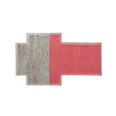 Mangas Space Plait Coral Area Rug Rug Size: Rectangle 73 x 910