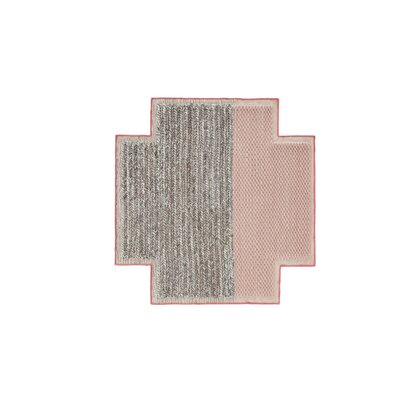 Mangas Space Plait Pink Area Rug