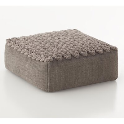 Trenzas Ottoman Upholstery: Taupe