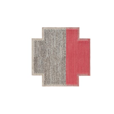 Mangas Space Plait Coral Area Rug Rug Size: Square 86