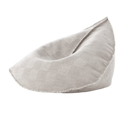 Sail Pouf Upholstery: Taupe