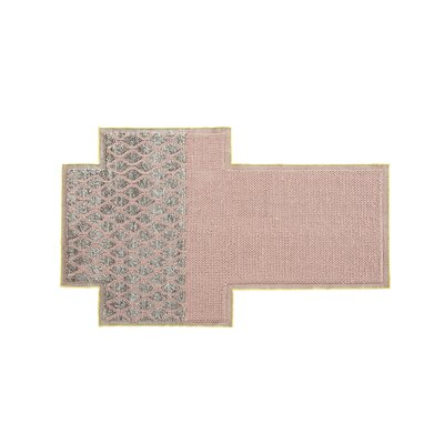 Mangas Space Rhombus Pink Area Rug Rug Size: Rectangle 63 x 83