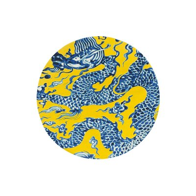 Cadeneta China Blue / Yellow Area Rug