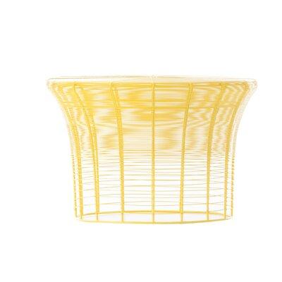 Aram Coffee Table Finish: Yellow