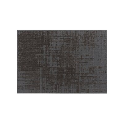 Canevas Abstract Charcoal Dark / Grey Area Rug Rug Size: 68 x 910