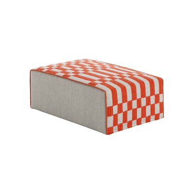 Bandas Space Big B Ottoman Upholstery: Orange
