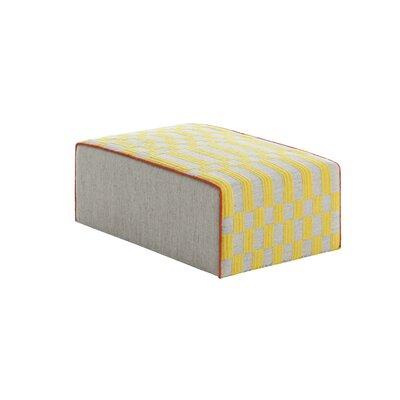 Bandas Space Ottoman Upholstery: Yellow