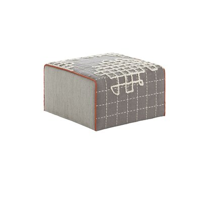 Bandas Space Small A Ottoman Upholstery: Gray