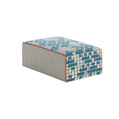 Bandas Space Big C Ottoman Upholstery: Turquoise