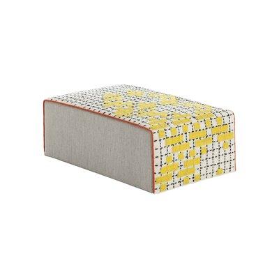 Bandas Space Big C Ottoman Upholstery: Yellow