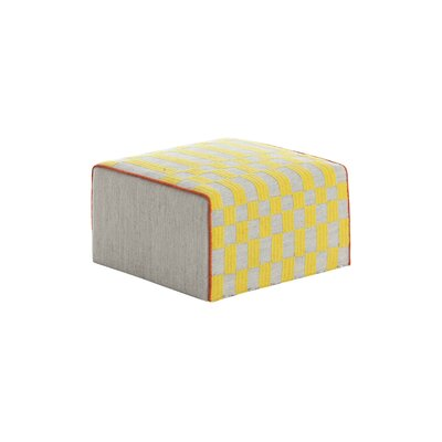 Bandas Space Small B Ottoman Upholstery: Yellow