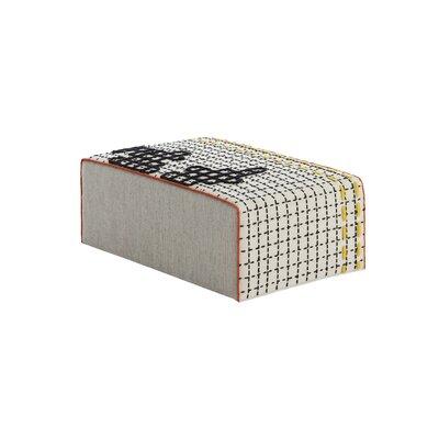 Bandas Space Ottoman Upholstery: White