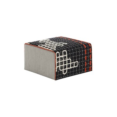 Bandas Space Small D Ottoman Upholstery: Black