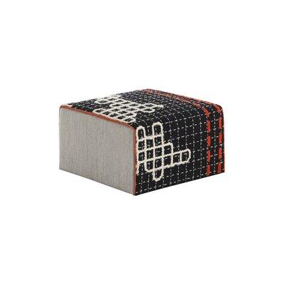 Bandas Space Ottoman Upholstery: Black